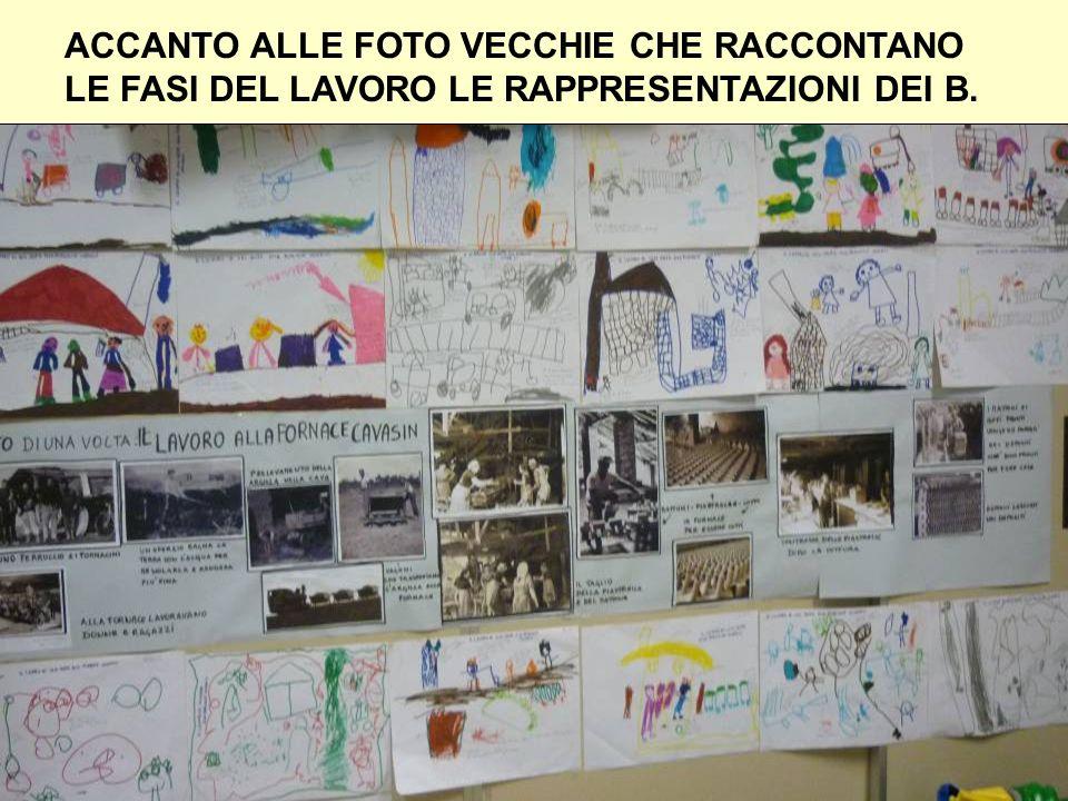 ACCANTO ALLE FOTO VECCHIE CHE RACCONTANO