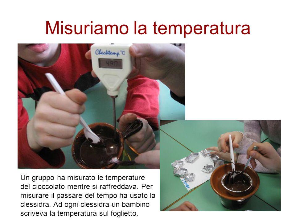 Misuriamo la temperatura