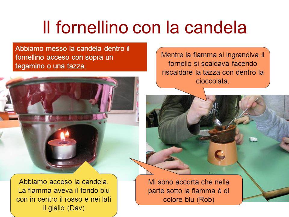 Il fornellino con la candela