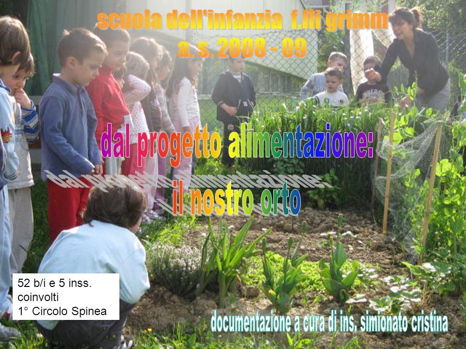 scuola dell infanzia f.lli grimm a. s. 2008 - 09