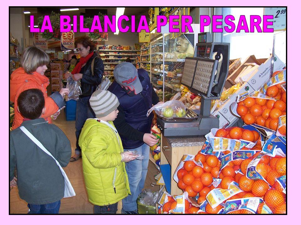 LA BILANCIA PER PESARE