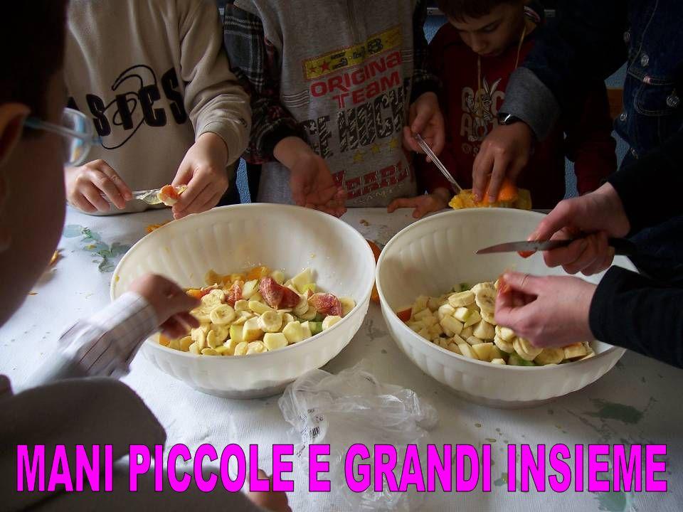 MANI PICCOLE E GRANDI INSIEME