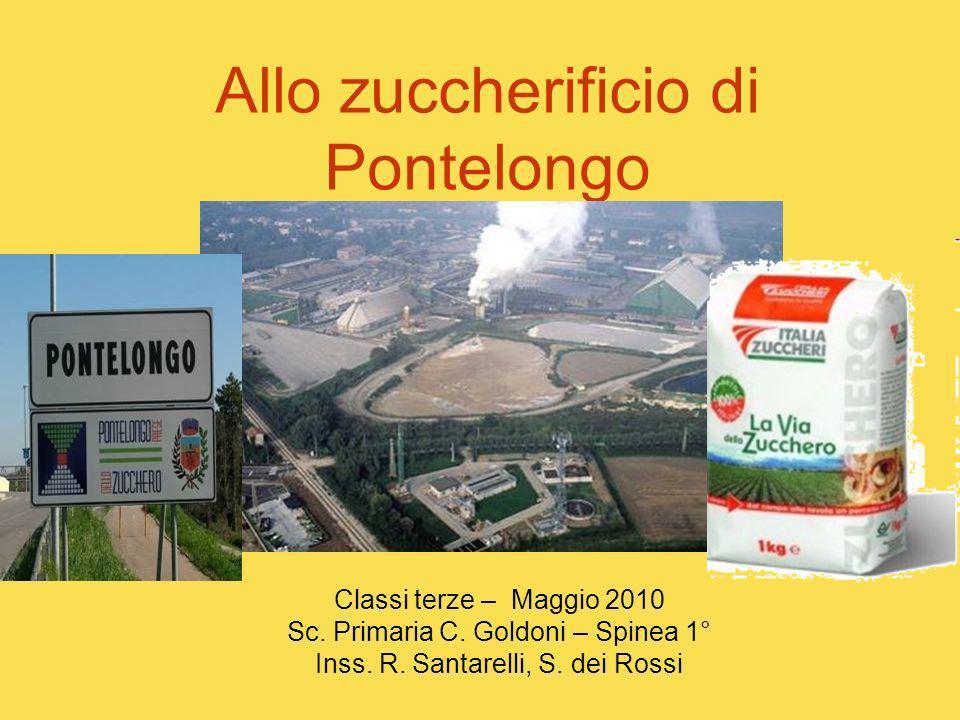 Allo zuccherificio di Pontelongo