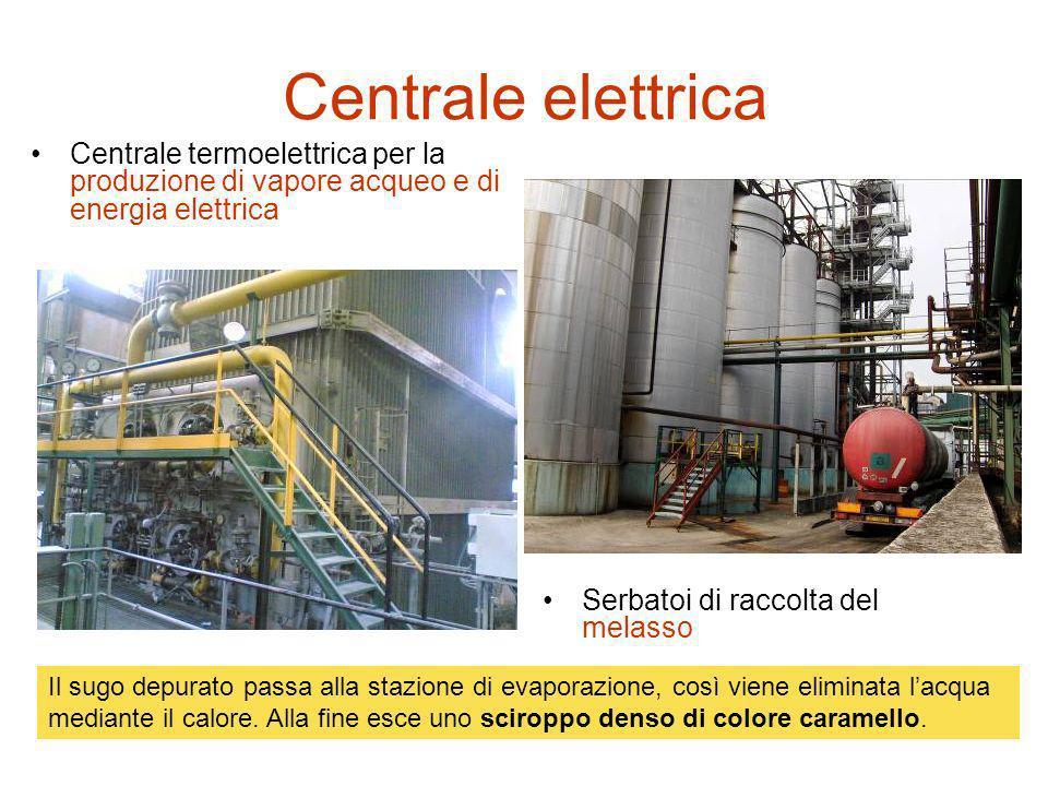 Centrale elettrica Centrale termoelettrica per la produzione di vapore acqueo e di energia elettrica.