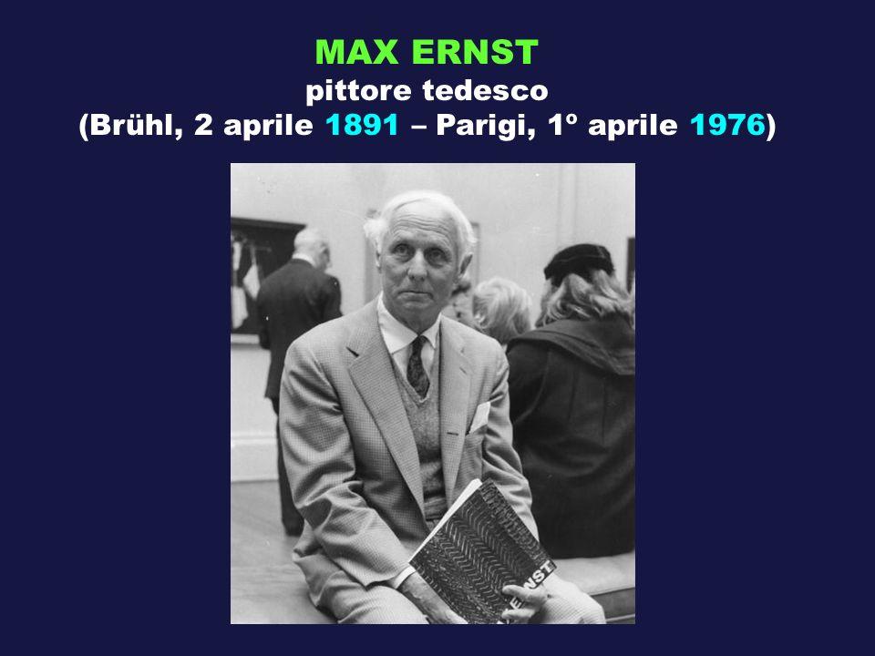 (Brühl, 2 aprile 1891 – Parigi, 1º aprile 1976)