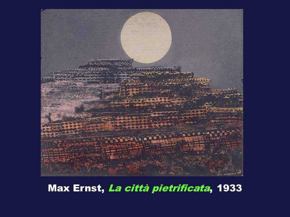 Max Ernst, La città pietrificata, 1933