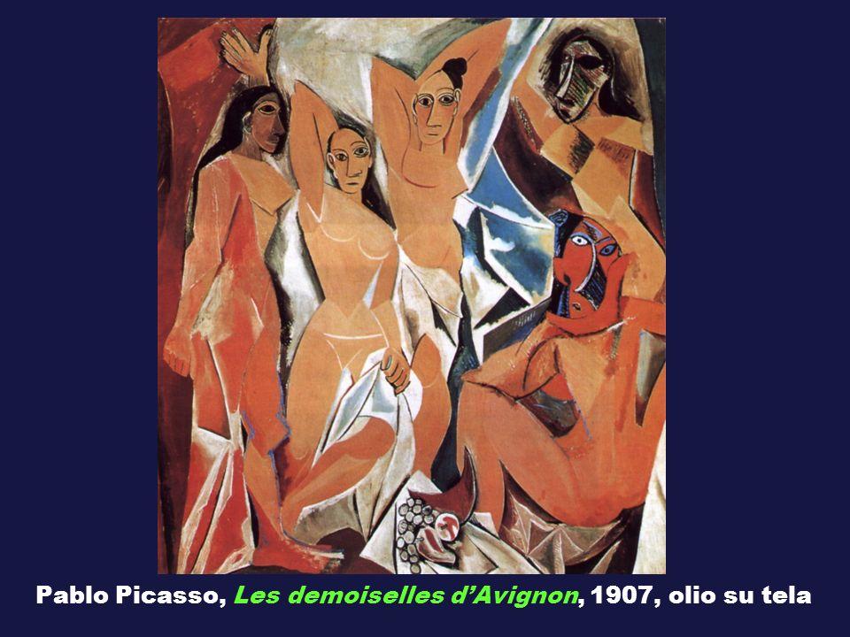 Pablo Picasso, Les demoiselles d'Avignon, 1907, olio su tela