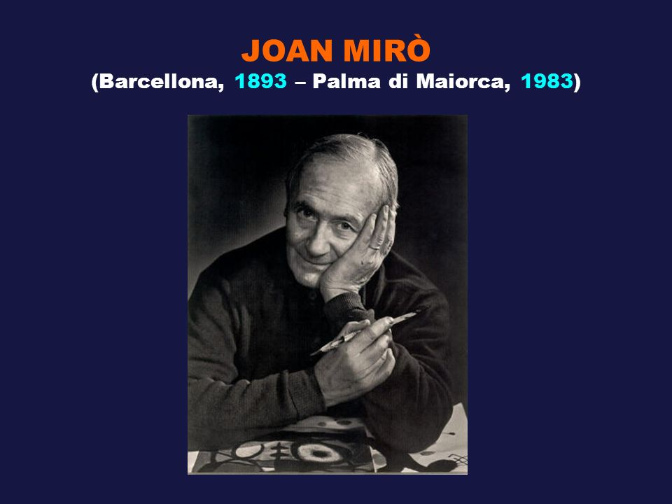(Barcellona, 1893 – Palma di Maiorca, 1983)