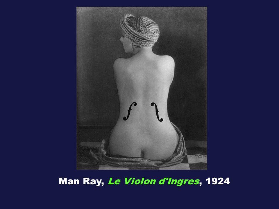 Man Ray, Le Violon d Ingres, 1924
