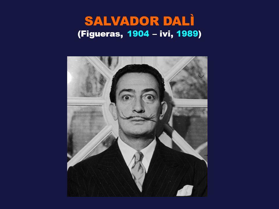 SALVADOR DALÌ (Figueras, 1904 – ivi, 1989)