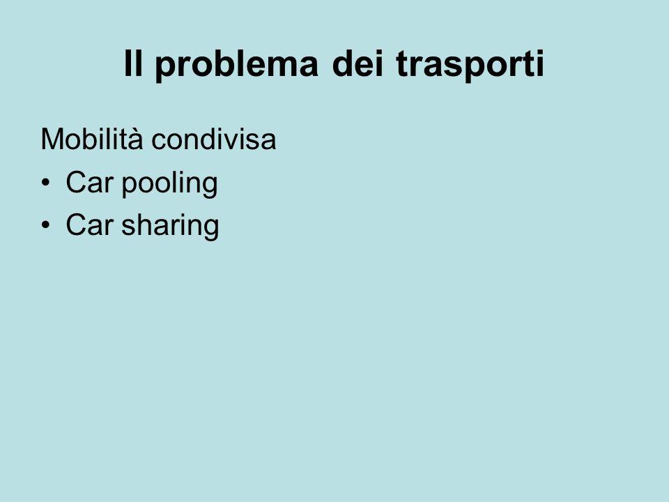 Il problema dei trasporti