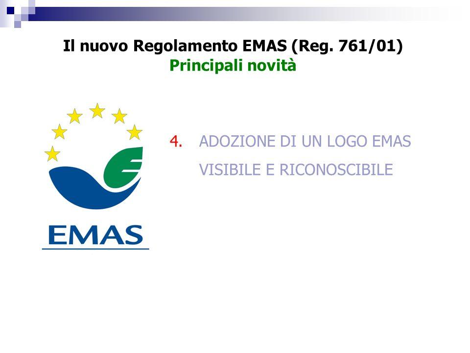 Il nuovo Regolamento EMAS (Reg. 761/01)