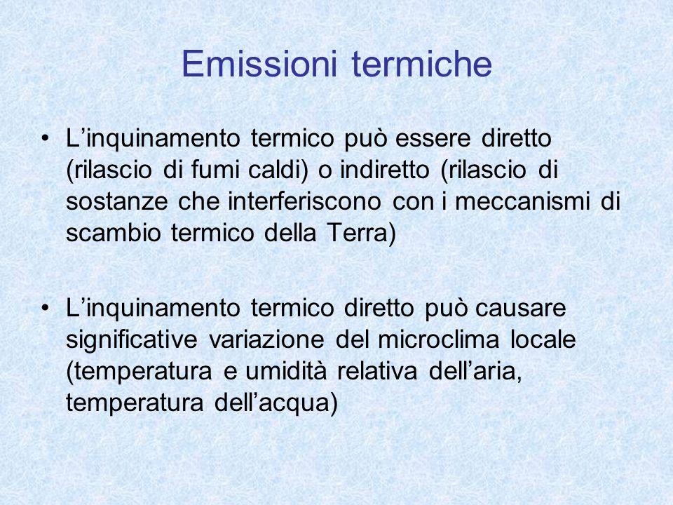 Emissioni termiche