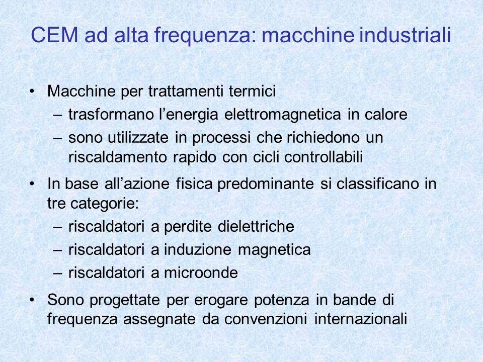 CEM ad alta frequenza: macchine industriali