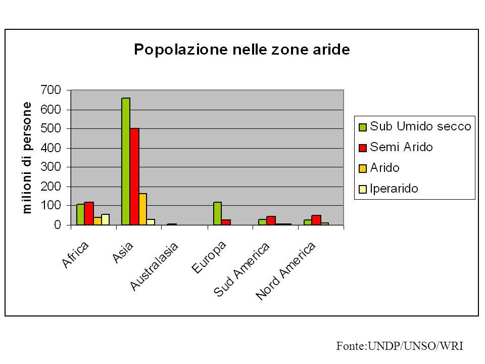 Fonte:UNDP/UNSO/WRI