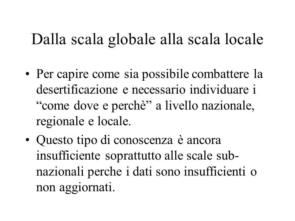 Dalla scala globale alla scala locale