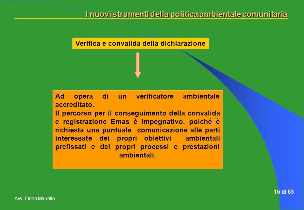 Verifica e convalida della dichiarazione