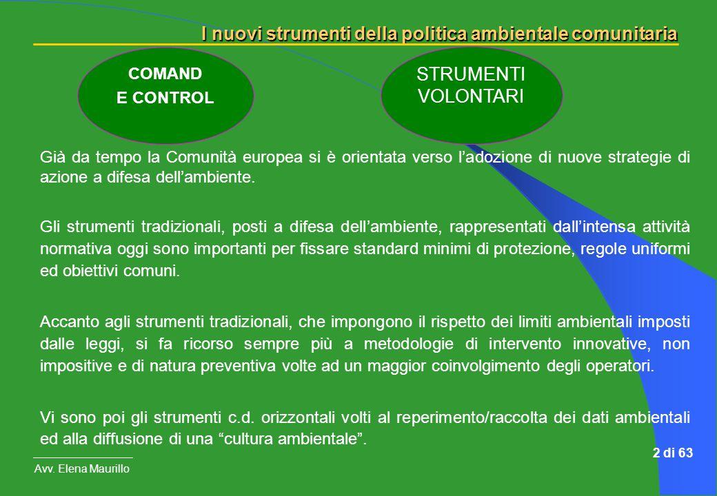 STRUMENTI VOLONTARI COMAND E CONTROL