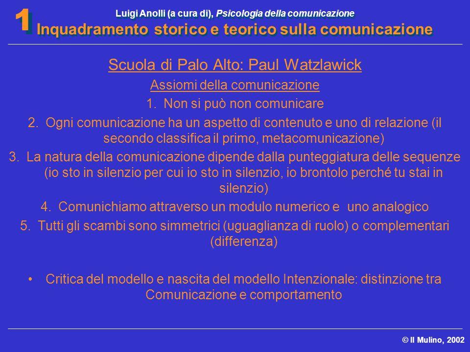 Scuola di Palo Alto: Paul Watzlawick