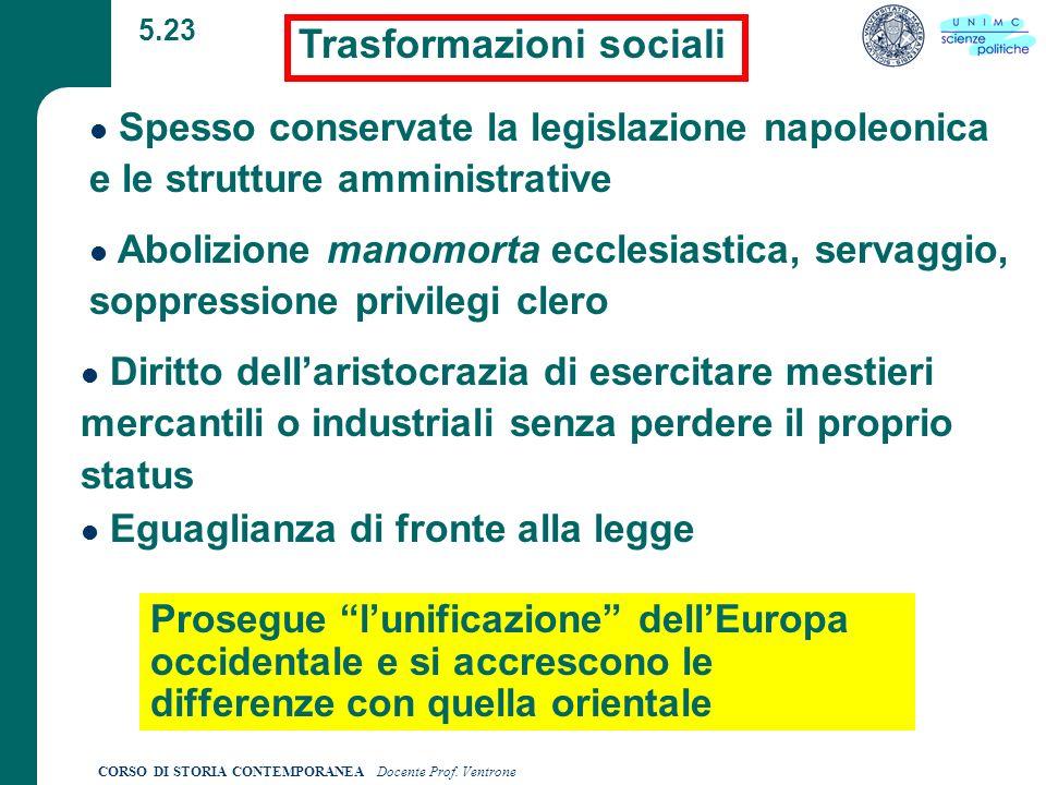 Trasformazioni sociali