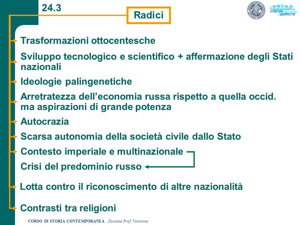 24.3 Radici Trasformazioni ottocentesche