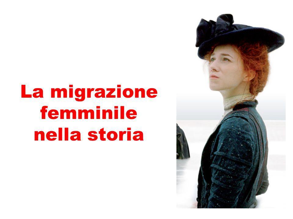 La migrazione femminile nella storia