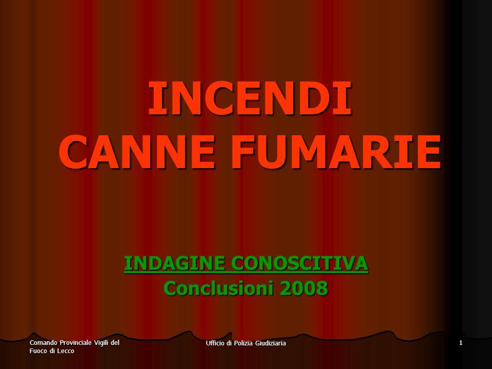 INDAGINE CONOSCITIVA Conclusioni 2008