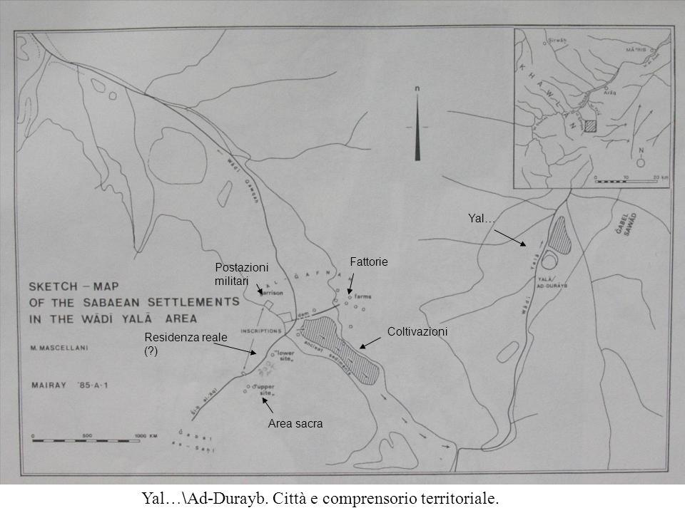 Yal…\Ad-Durayb. Città e comprensorio territoriale.