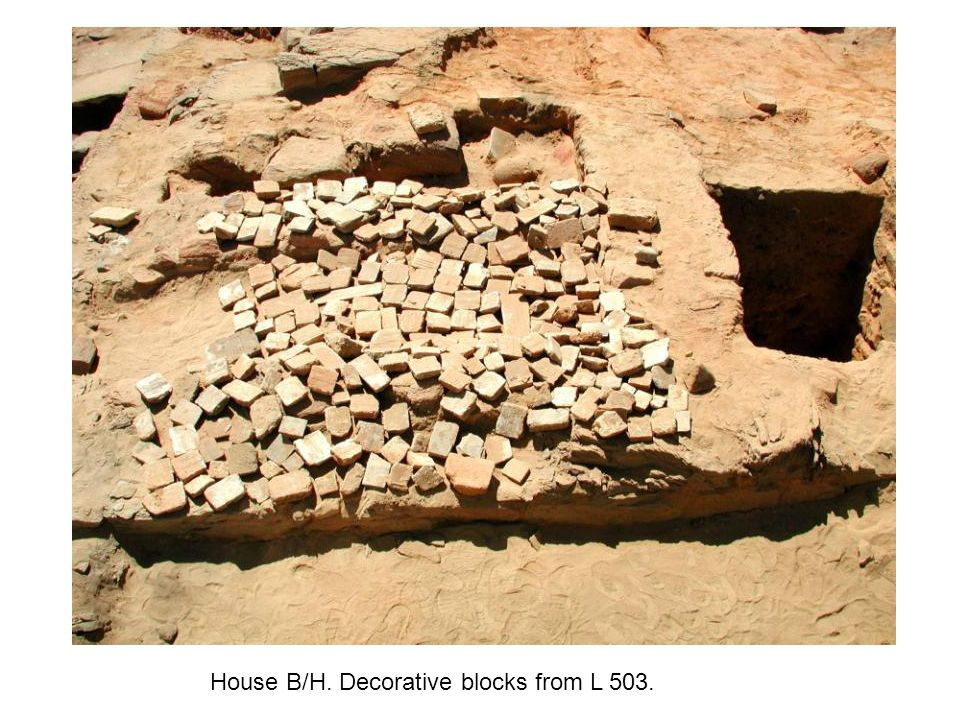 House B/H. Decorative blocks from L 503.