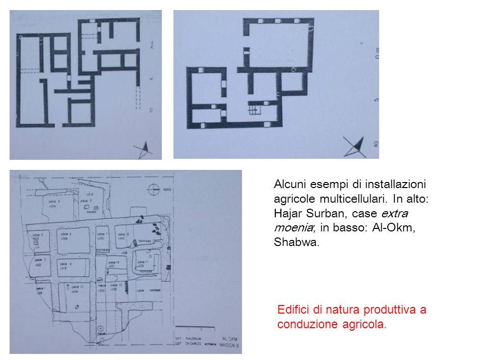 Alcuni esempi di installazioni agricole multicellulari