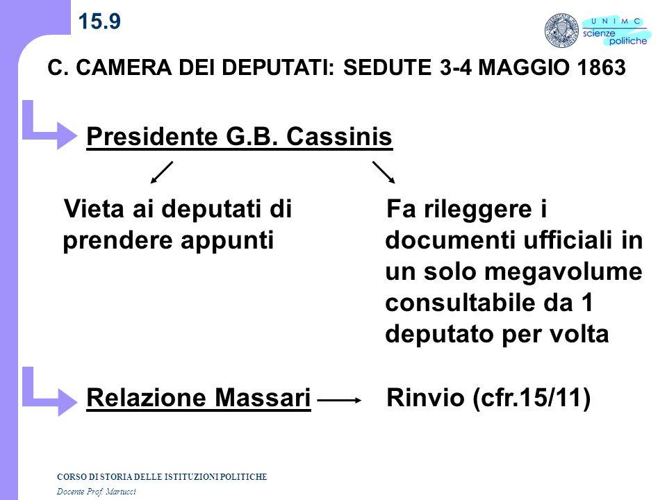 Presidente G.B. Cassinis