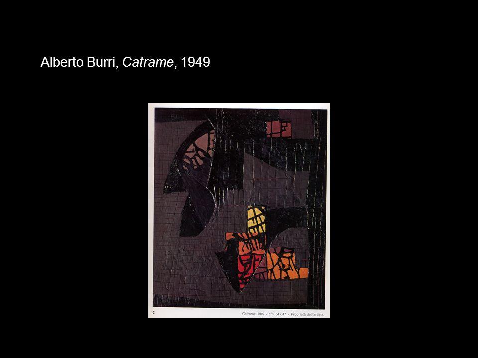 Alberto Burri, Catrame, 1949