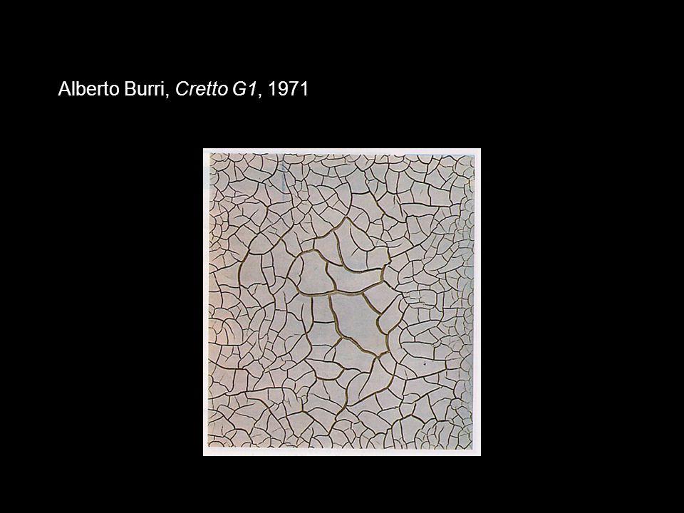 Alberto Burri, Cretto G1, 1971