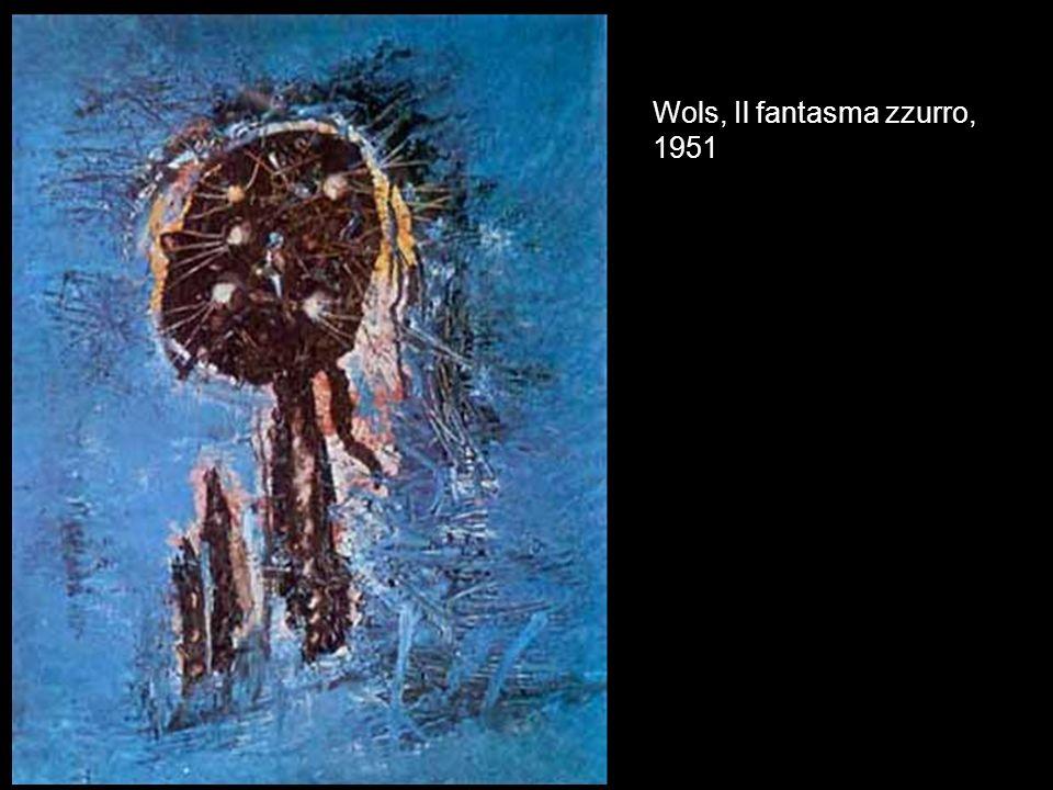 Wols, Il fantasma zzurro, 1951