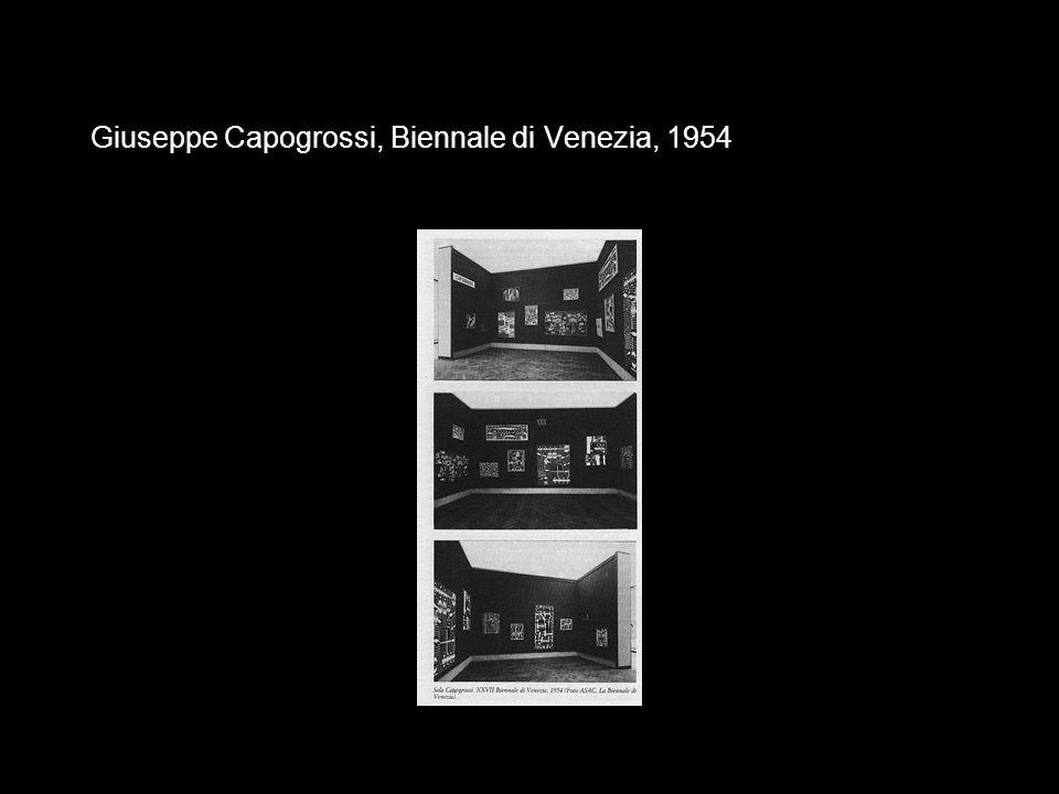 Giuseppe Capogrossi, Biennale di Venezia, 1954