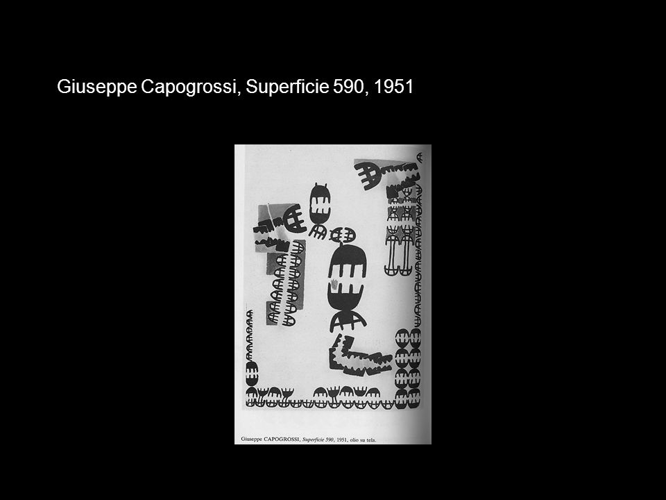 Giuseppe Capogrossi, Superficie 590, 1951