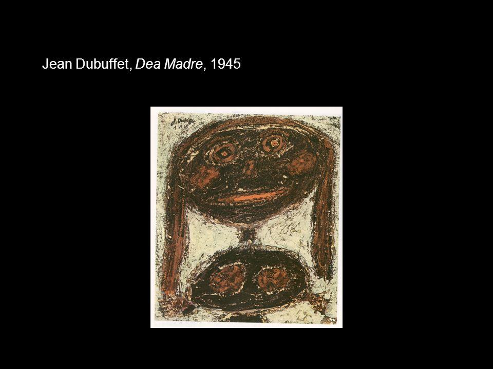 Jean Dubuffet, Dea Madre, 1945