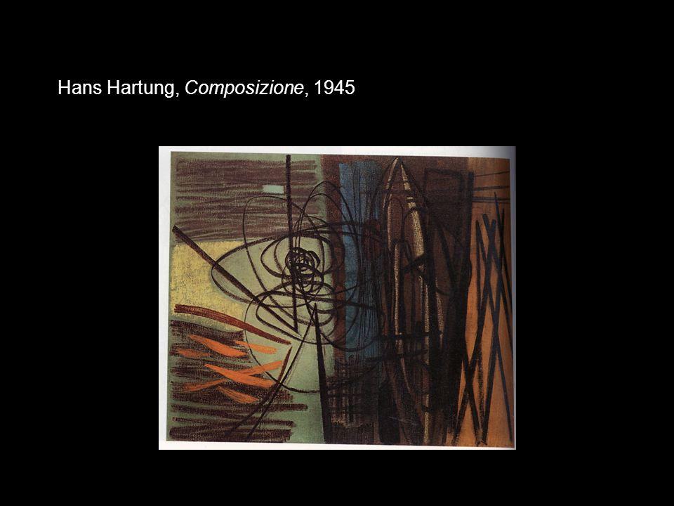 Hans Hartung, Composizione, 1945
