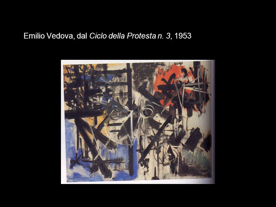 Emilio Vedova, dal Ciclo della Protesta n. 3, 1953
