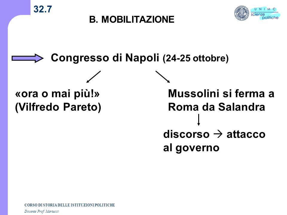 Congresso di Napoli (24-25 ottobre)