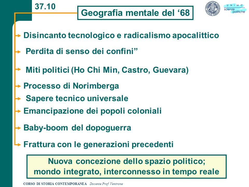 Geografia mentale del '68