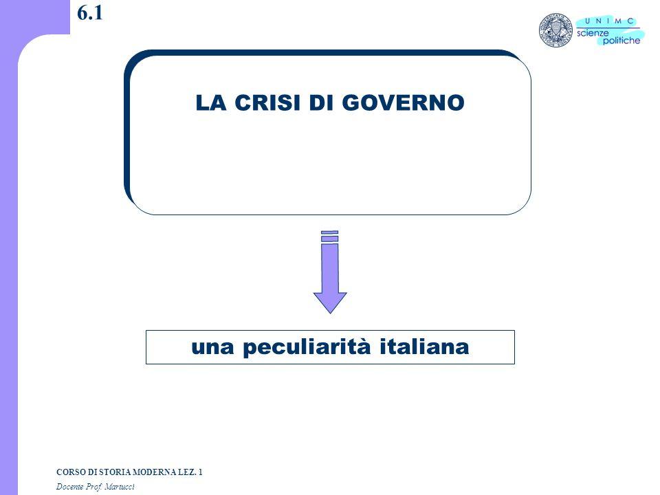 una peculiarità italiana