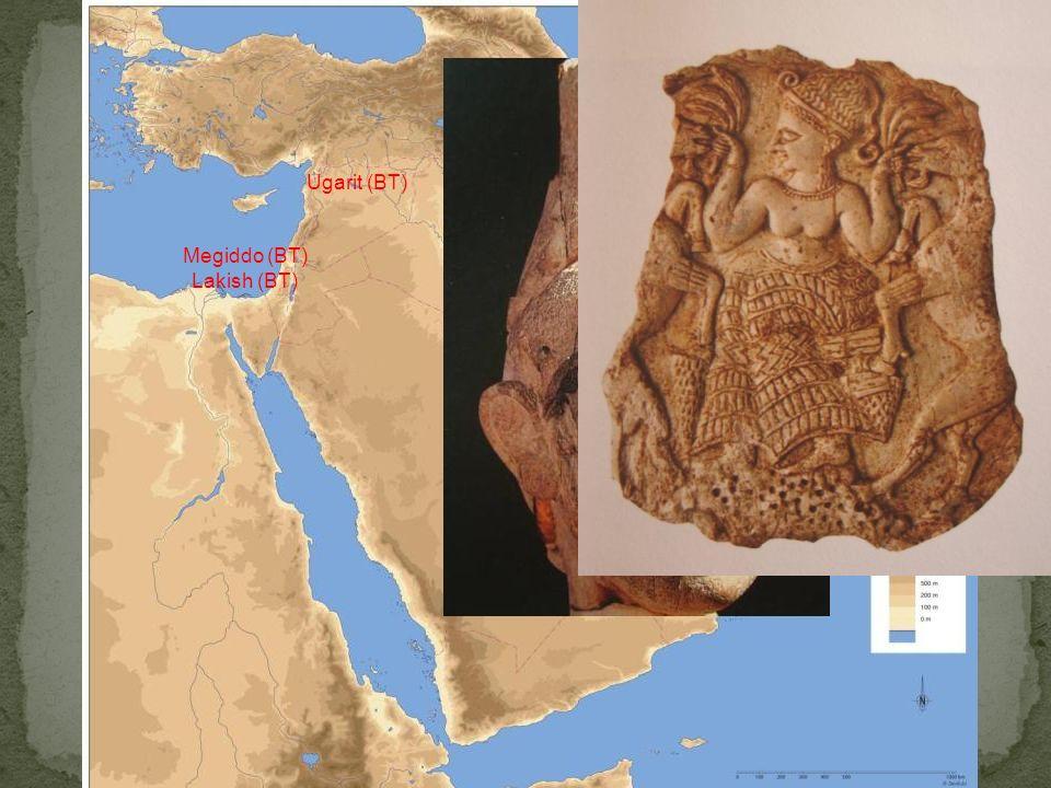 Bronzo Tardo Ugarit (BT) Megiddo (BT) Lakish (BT)
