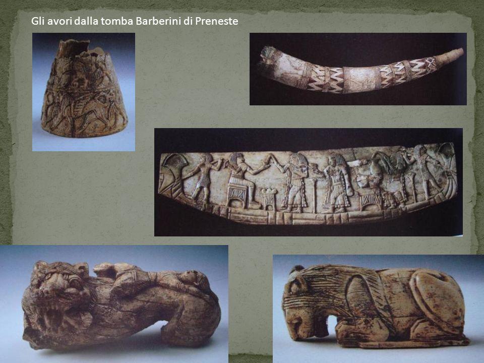 Gli avori dalla tomba Barberini di Preneste