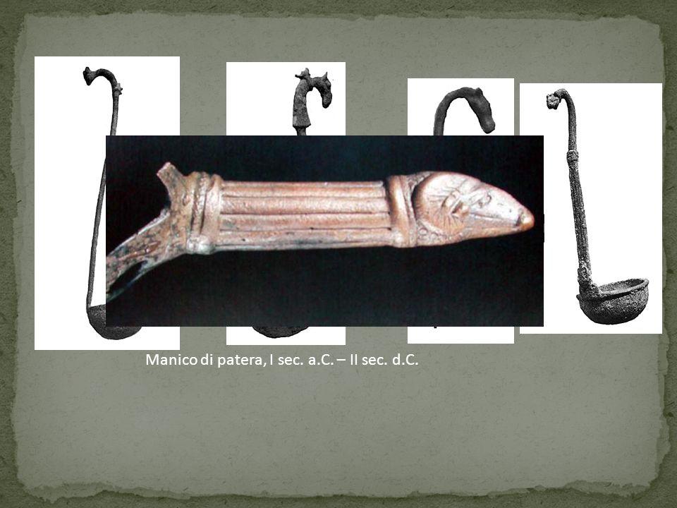 Manico di patera, I sec. a.C. – II sec. d.C.
