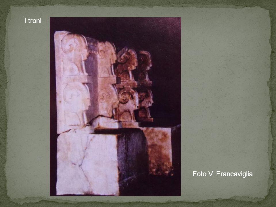 I troni Foto V. Francaviglia