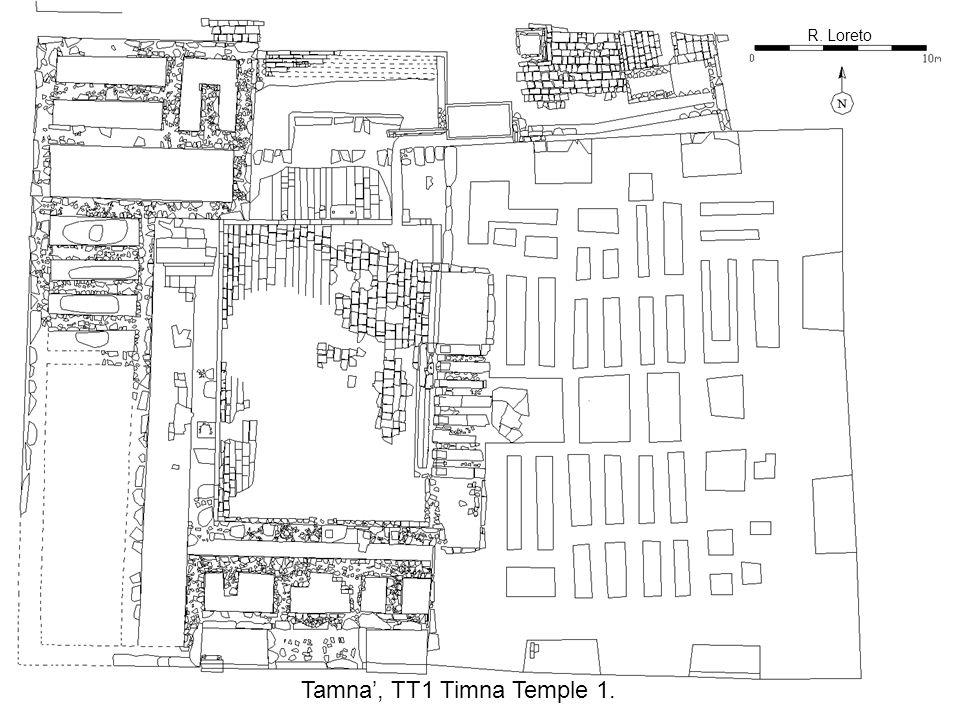 R. Loreto Tamna', TT1 Timna Temple 1.