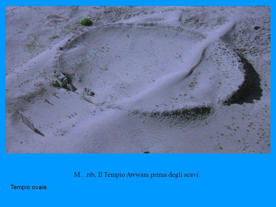 M…rib, Il Tempio Awwam prima degli scavi.