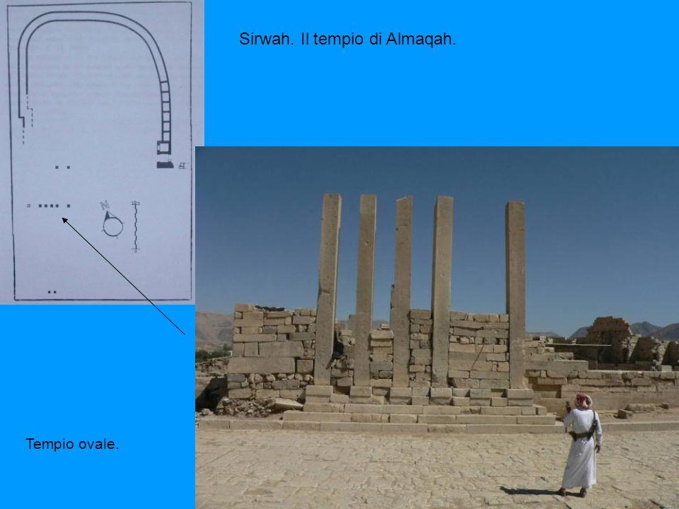 Sirwah. Il tempio di Almaqah.
