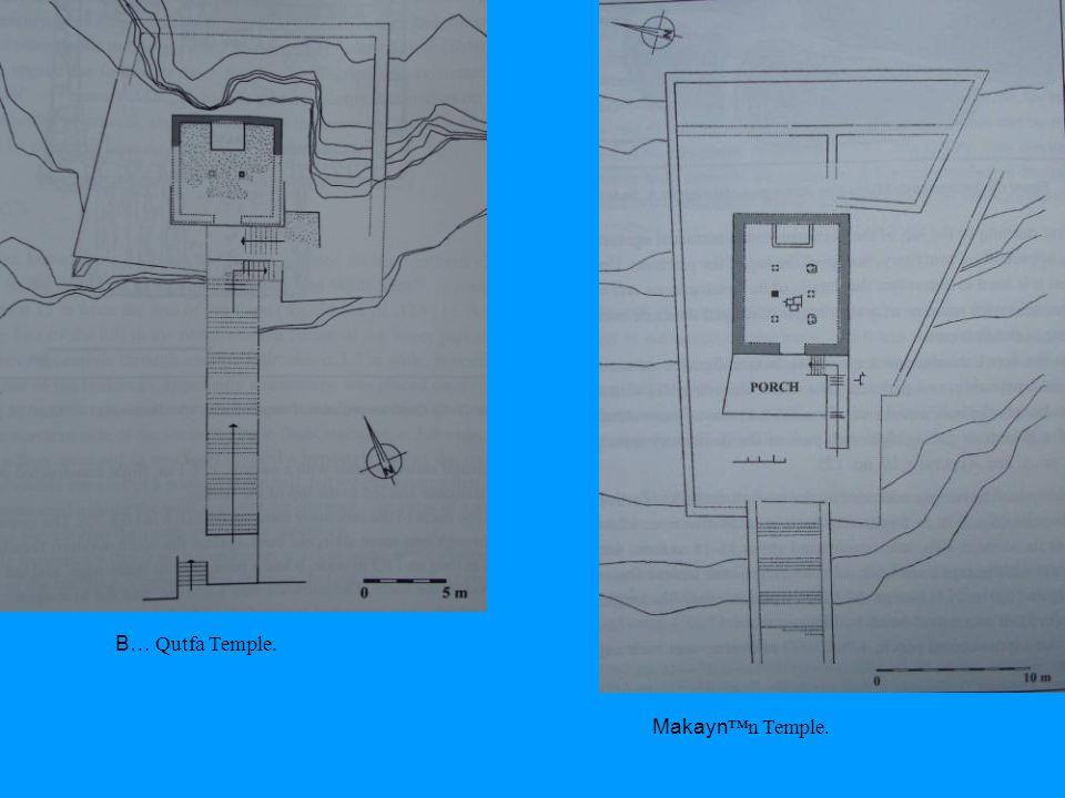 B… Qutfa Temple. Makayn™n Temple.